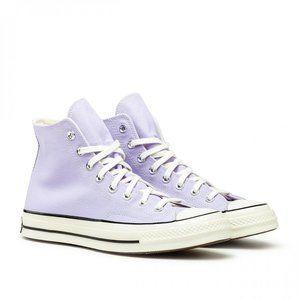 CONVERSE Purple Chuck 70 High Sneakers SIZE 7.5